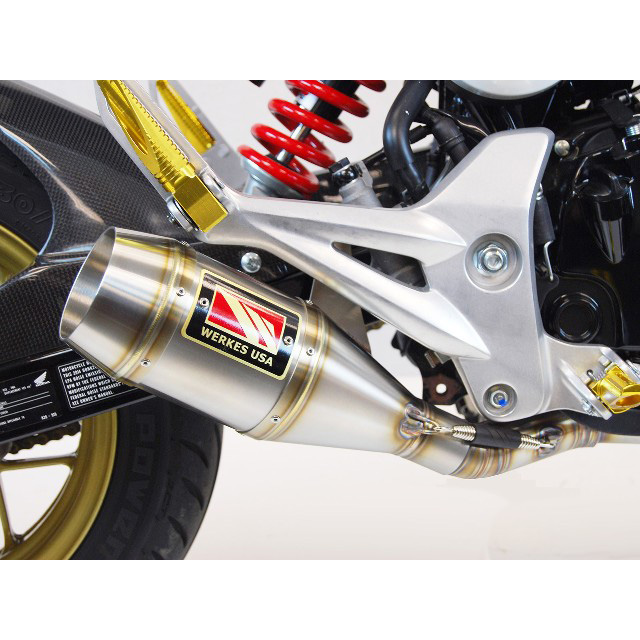 Exhausts from Competition Werkes