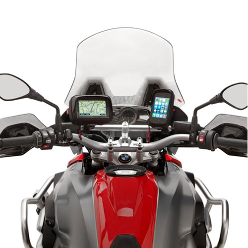 GPS Mounts for BMW's F700GS motorcycle