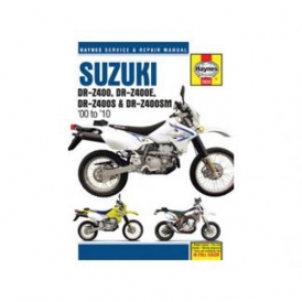 haynes rtfm 2933 repair manual for suzuki drz400 drz400e drz400s rh accessoryinternational com suzuki drz 400 workshop manual pdf suzuki drz 400 workshop manual pdf