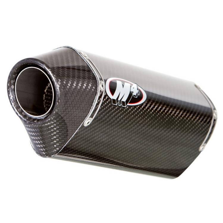 M4 SU7014 Slip On Exhaust, Carbon Muffler for Suzuki GSX-S 750 15-17
