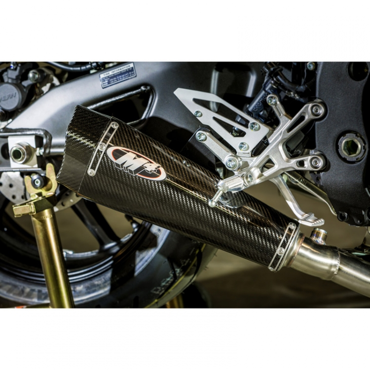 M4 YA6924 X-model MC36 Slip On Exhaust, Carbon Fiber for Yamaha FZ-10  (2017-)