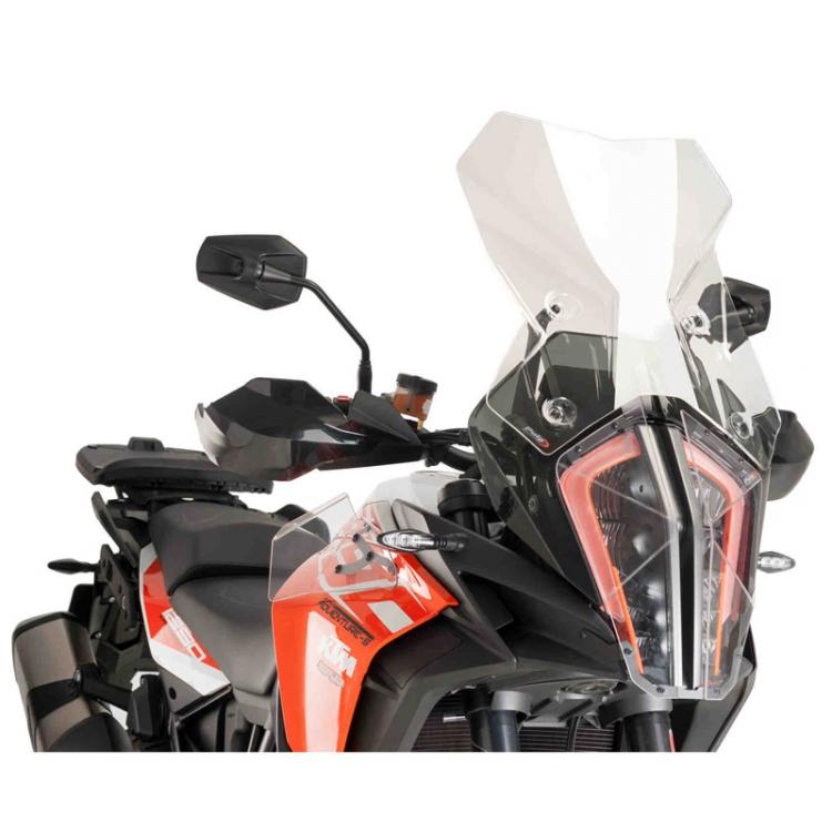 Windshield Windscreen Screen For KTM 1050 1090 1190  Adventure R S Black Smoke