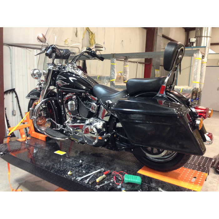 Saddlebags from Reckless Motorcycles