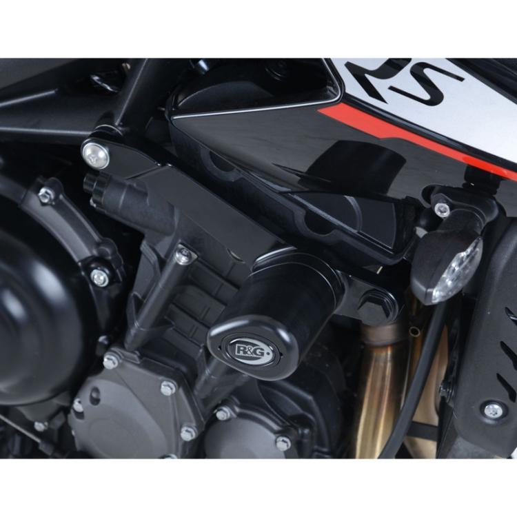 R&G CP0430BL Aero Style Frame Sliders for Triumph Street Triple R/S ...