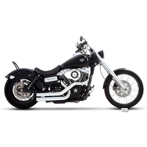 Exhausts for Harley-Davidson Dyna models