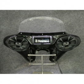 TKY Small Headlight Batwing Fairing with Full Stereo 6