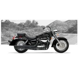 Hard Krome 515 2020 American Classic Ii Exhaust Honda Shadow Aero