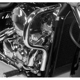 Hepco Becker 501955 00 02 Engine Guard For Honda Shadow 750 2008