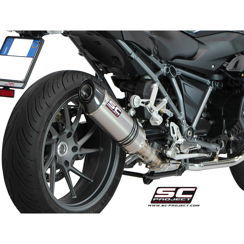 Exausts for BMW R1200R