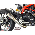 SC-Project D10-DL41T S1 Flapper Delete Exhaust Hypermotard 821 / 939