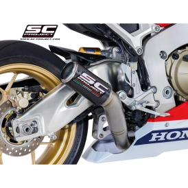 SC-Project H15-HT36TR High Mount CR-T Exhaust for Honda CBR1000RR (2017-)