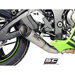 Arrow 71028GP GP2 Exhaust, Titanium for Kawasaki ZX-10R (2016