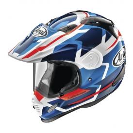 d53d2538 Arai XD4 Depart Helmet, White/Blue | Accessories International