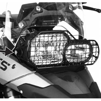 Protection for BMW F800GS