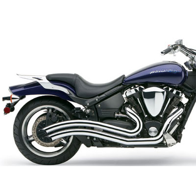 Exhausts for Yamaha Road Star Warrior