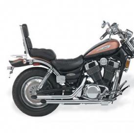 JARDINE Rumblers Slash Cut Drag Pipes Complete Exhaust Intruder 1400 87-04  / Boulevard S83 05-up