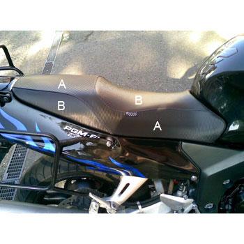 Granucci Drivers Seat Covers For Honda Cbr1100xx Blackbird