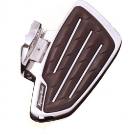 Highway Hawk Smooth Passenger Floorboards Kawasaki Vulcan//Classic//Mean Streak