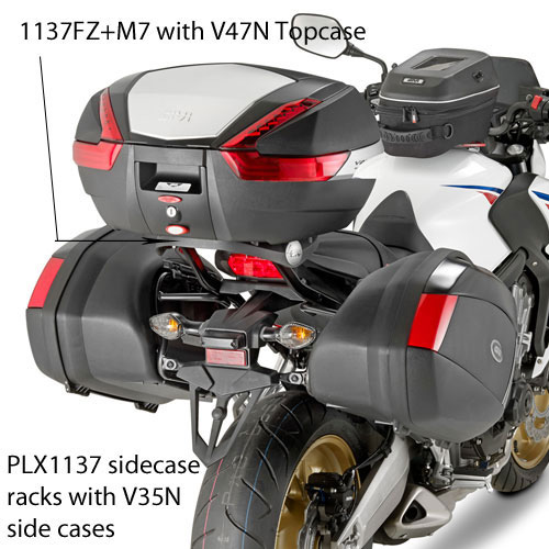 Luggage for CBR650F