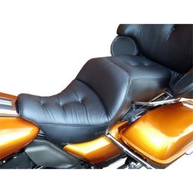 Saddlemen Road Sofa Deluxe Touring Seat Low For Harley Davidson