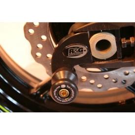 ZX-14 Kawasaki ZZR1400 2012 R/&G Cotton Reels Swingarm Protectors