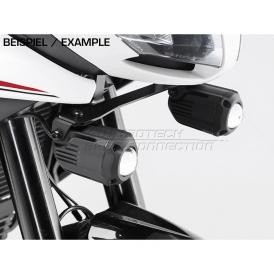 Sw Motech 1100460300b Hawk Led Fog Light Set Black For Triumph